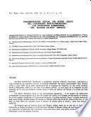 Boletín del Departamento de Geología Uni-son