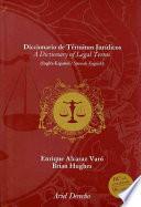 Diccionario de términos jurídicos