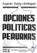 Opciones políticas peruanas
