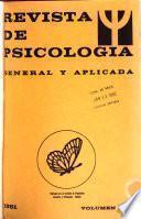 Revista de psicologia general y aplicada